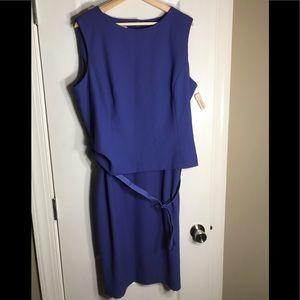 Vintage Talbots NWT Purple Size 20 Dress